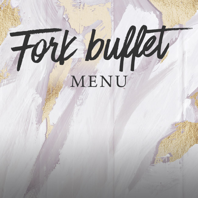 Fork buffet menu at The Plough