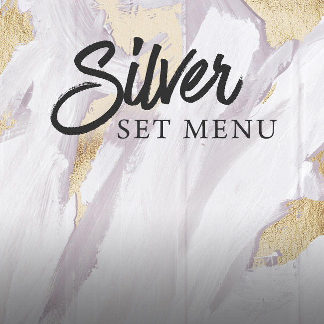 Silver set menu at The Plough