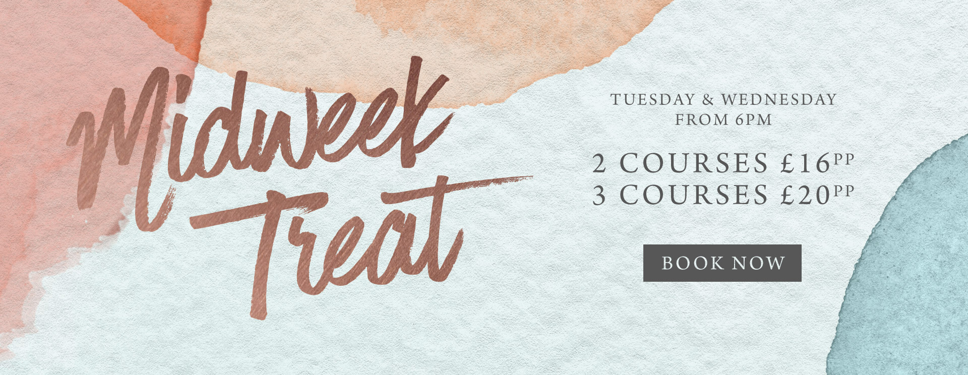 Midweek treat at The Plough - Book now