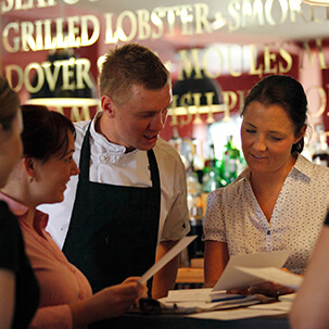 The team at The Plough